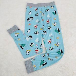 PAJAMAGRAM Christmas Penguin Long John Pajama Pant